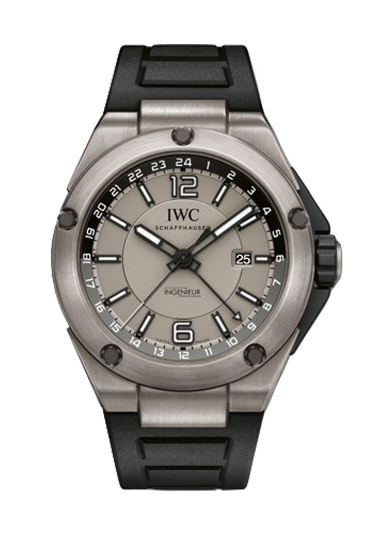 IWC Ingenieur Dual Time 45mm Automatic in Titanium