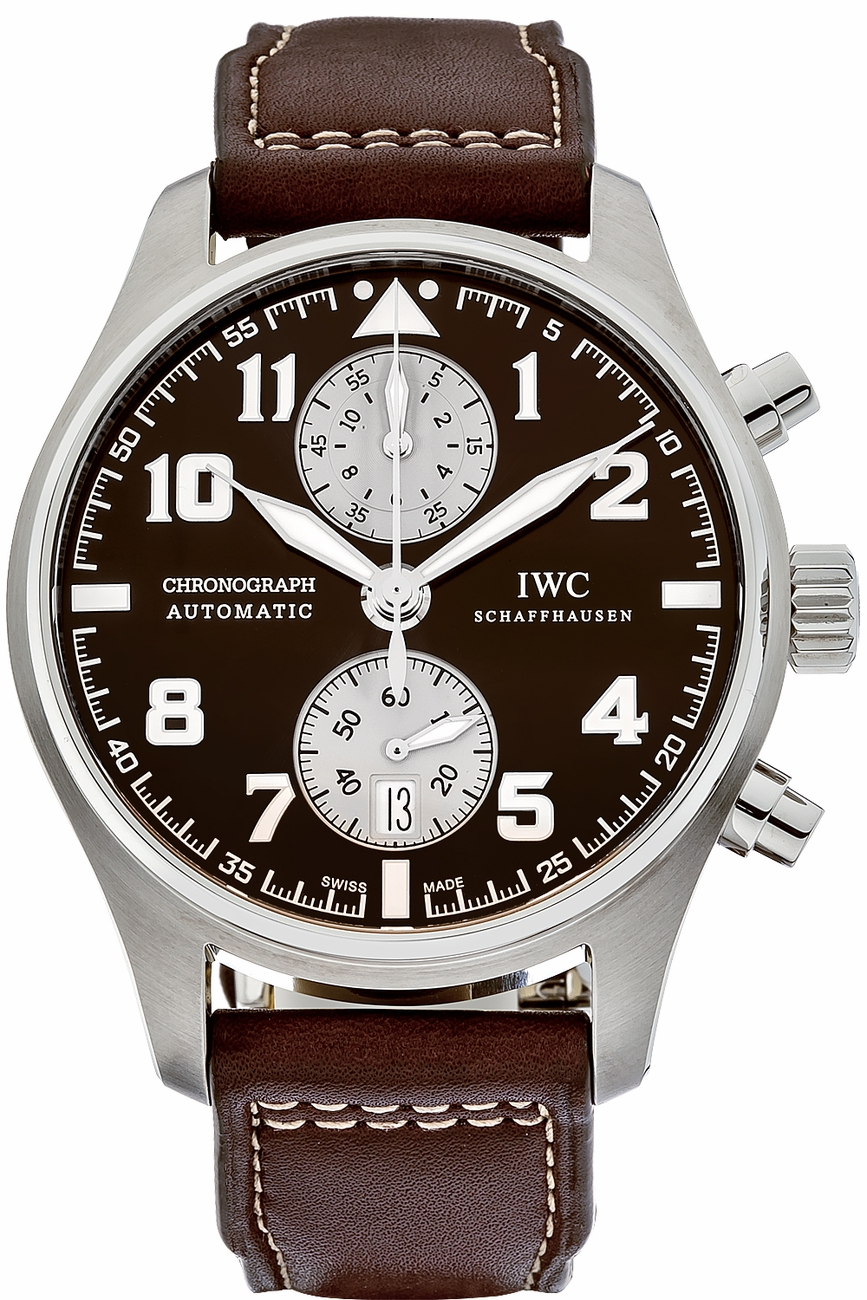 IWC Saint Exupery Chronograph in Steel