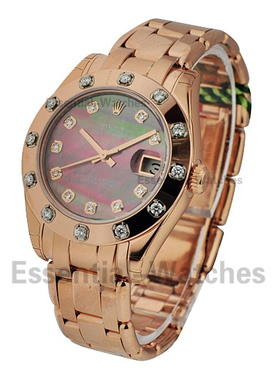 Rolex Unworn Rose Gold Midsize Masterpiece 81315