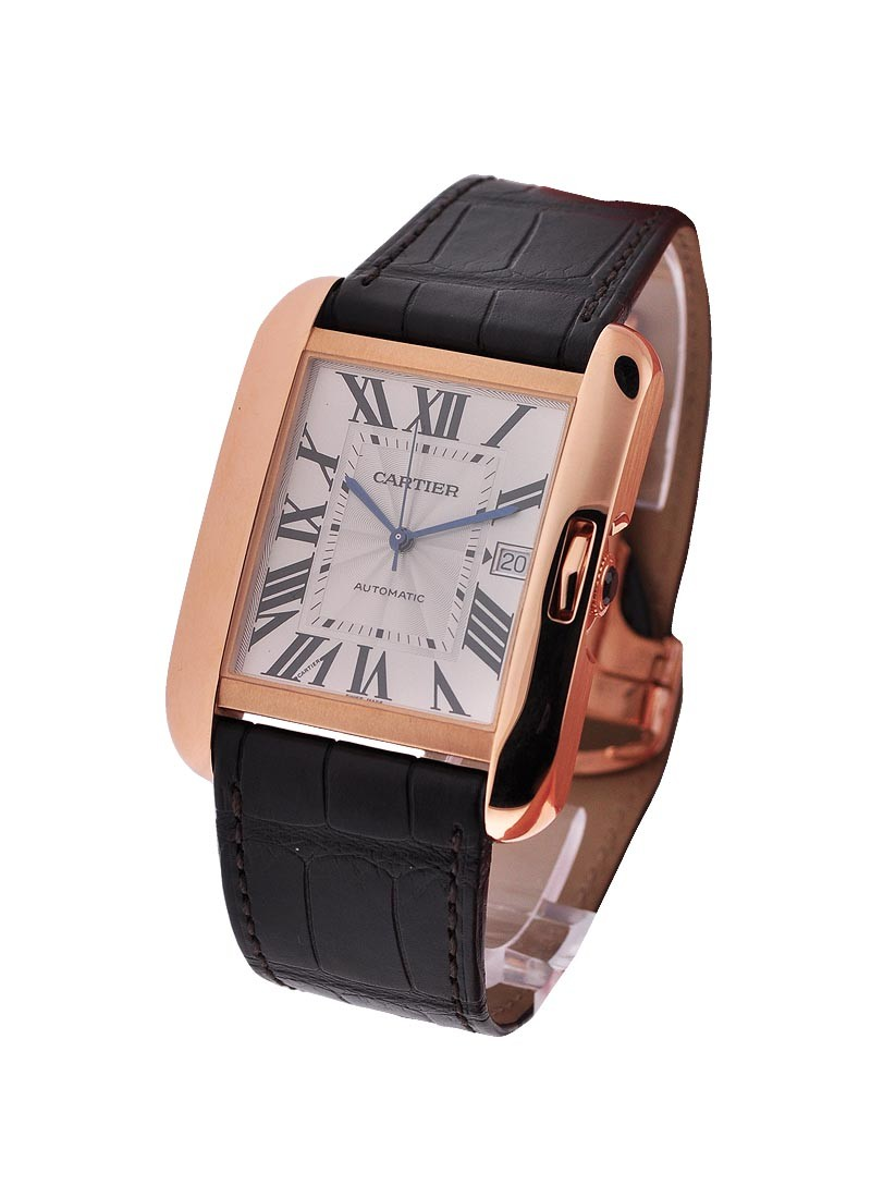 Cartier Tank Anglaise Large in Rose Gold