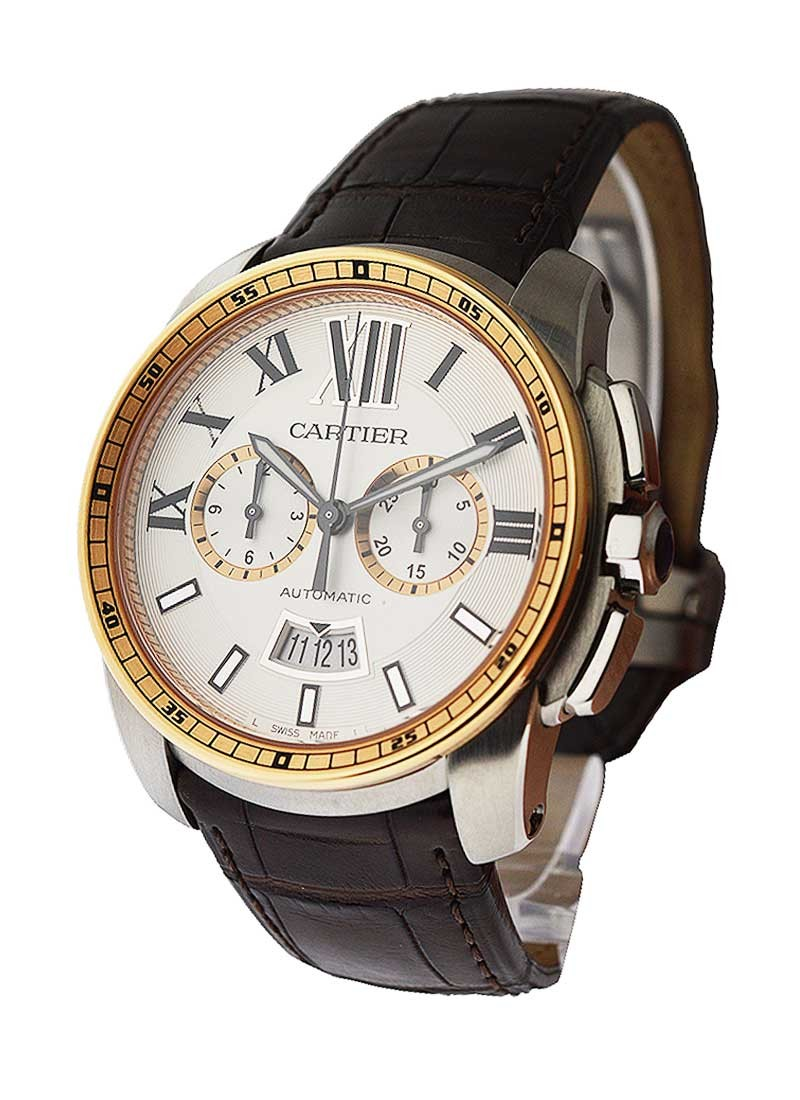 Cartier Calibre de Cartier Chronograph Two Tone