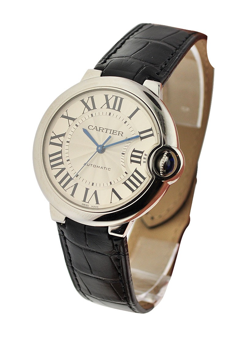 Cartier Ballon Bleu de Cartier 36mm in Steel