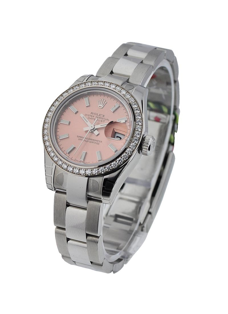 Rolex Unworn Datejust Ladies 26mm in Steel with Diamond Bezel