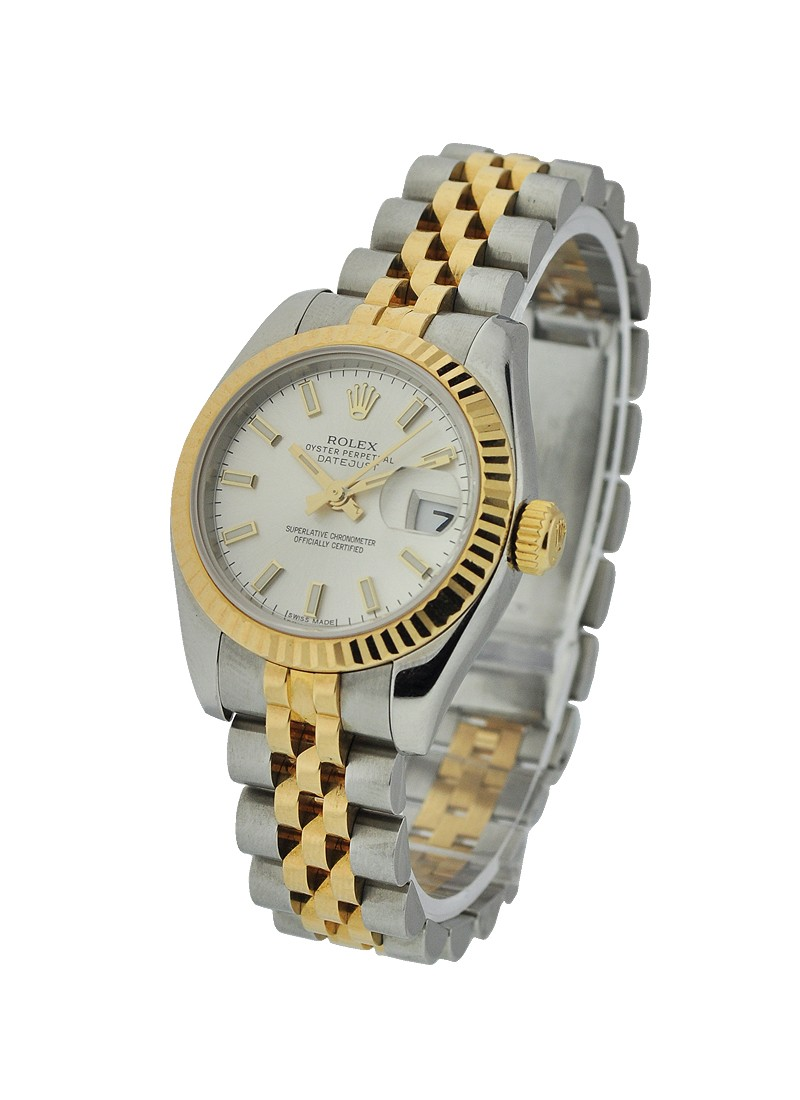 Rolex Used Ladys 2 Tone DATEJUST 179173