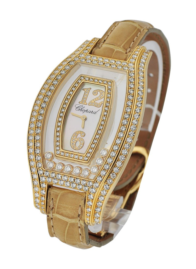 Chopard Boutique Yellow Gold with Diamond Case
