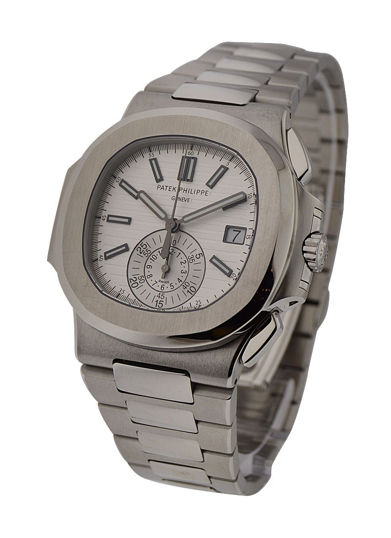 Patek Philippe Nautilus 5980/1A Chronograph 40.5mm Automatic in Steel