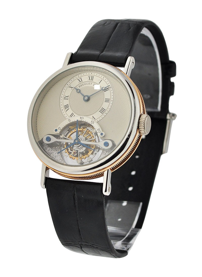 Breguet Ref 3450 Tourbillon with Engraved Movement