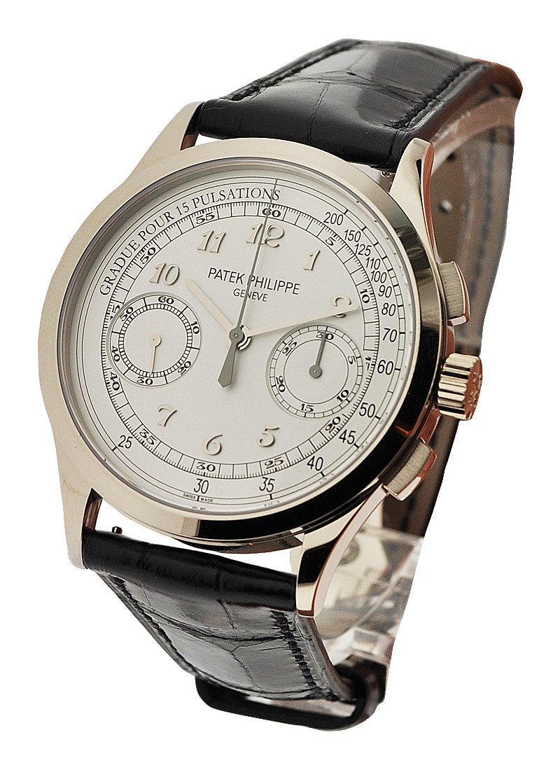 Patek Philippe 5170G Chronograph 39mm in White Gold