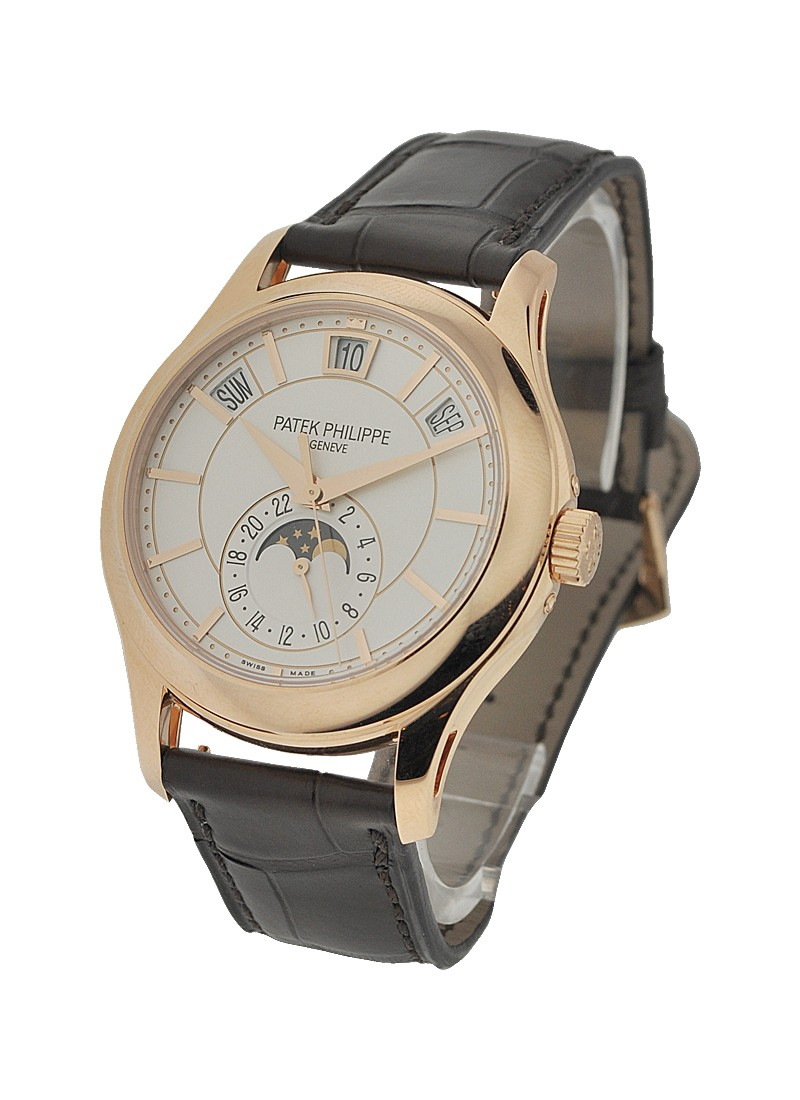 Patek Philippe Annual Calendar Ref 5205R 001 Moon Phase in Rose Gold
