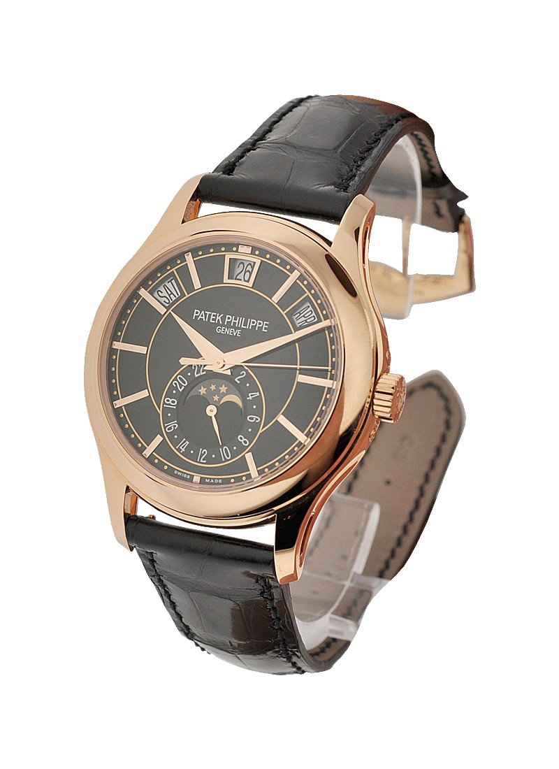Patek Philippe Annual Calendar Ref 5205R 010 Moon Phase in Rose Gold