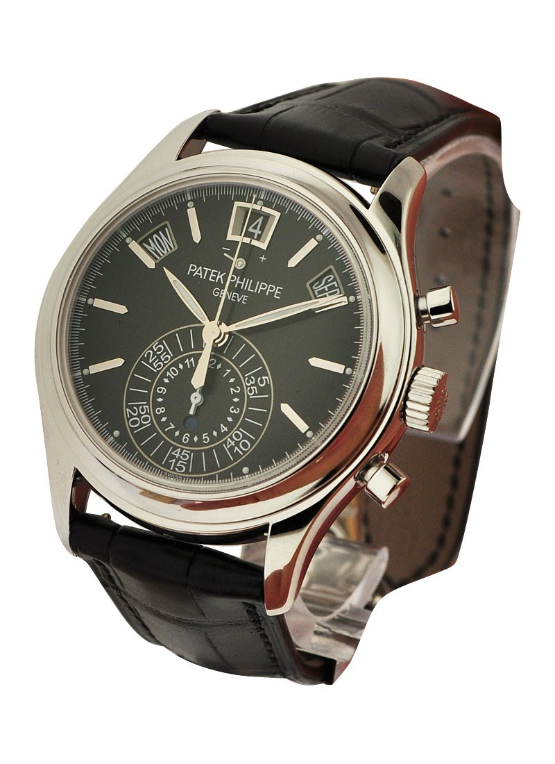 Patek Philippe 5960P Annual Calendar Chronograph in PLatinum