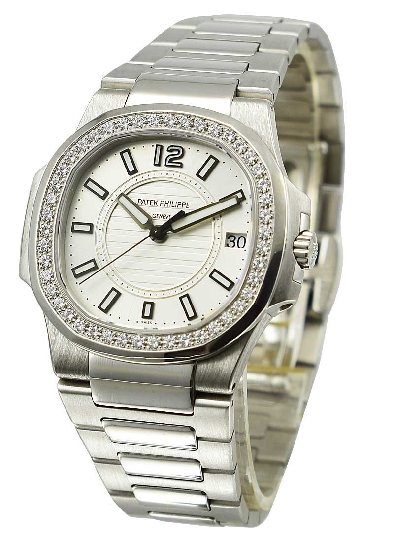 Patek Philippe 7010 Ladies Nautilus with Diamond Bezel