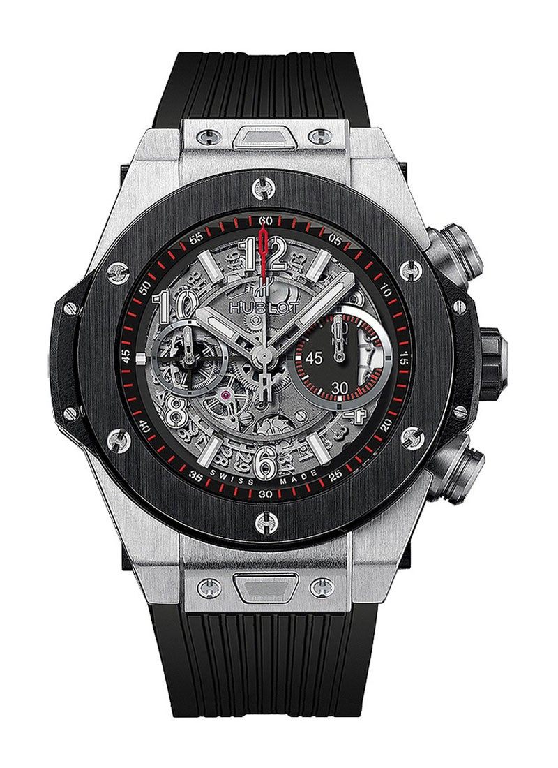 Hublot Big Bang Unico Chronograph in Titanium with Black Ceramic Bezel