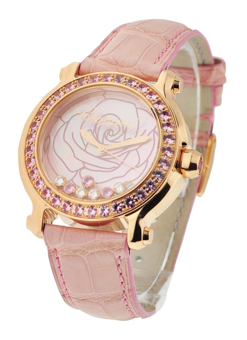 Chopard Happy Sport Rose Gold La Vie en Rose Limited Edition