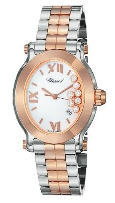 Chopard Happy Sport Oval Two Tone