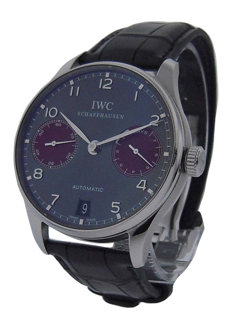 IWC Portuguese Auto 7 Day Power Reserve - Limited to 100 pc