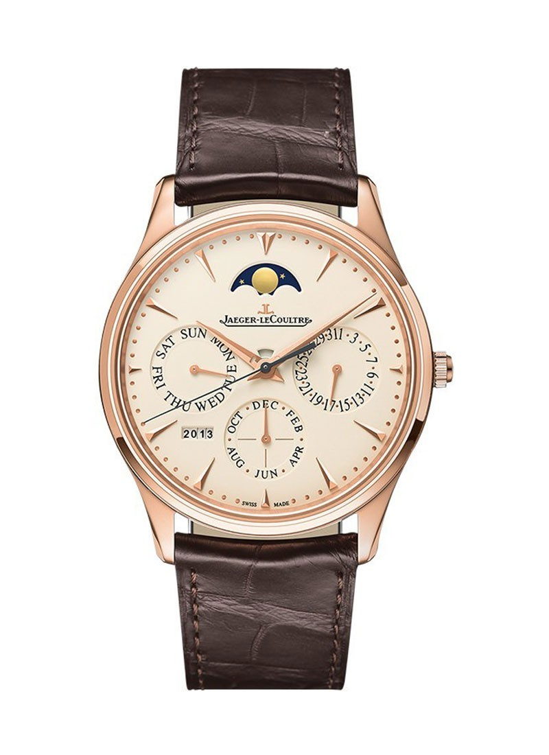 Jaeger - LeCoultre Master Ultra Thin Perpetual in Rose Gold