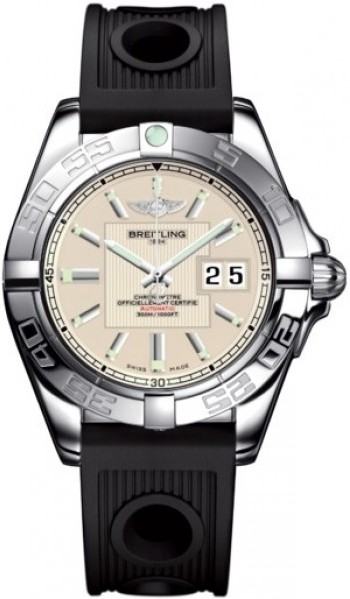 Breitling Galactic 41 Men's Automatic in Steel