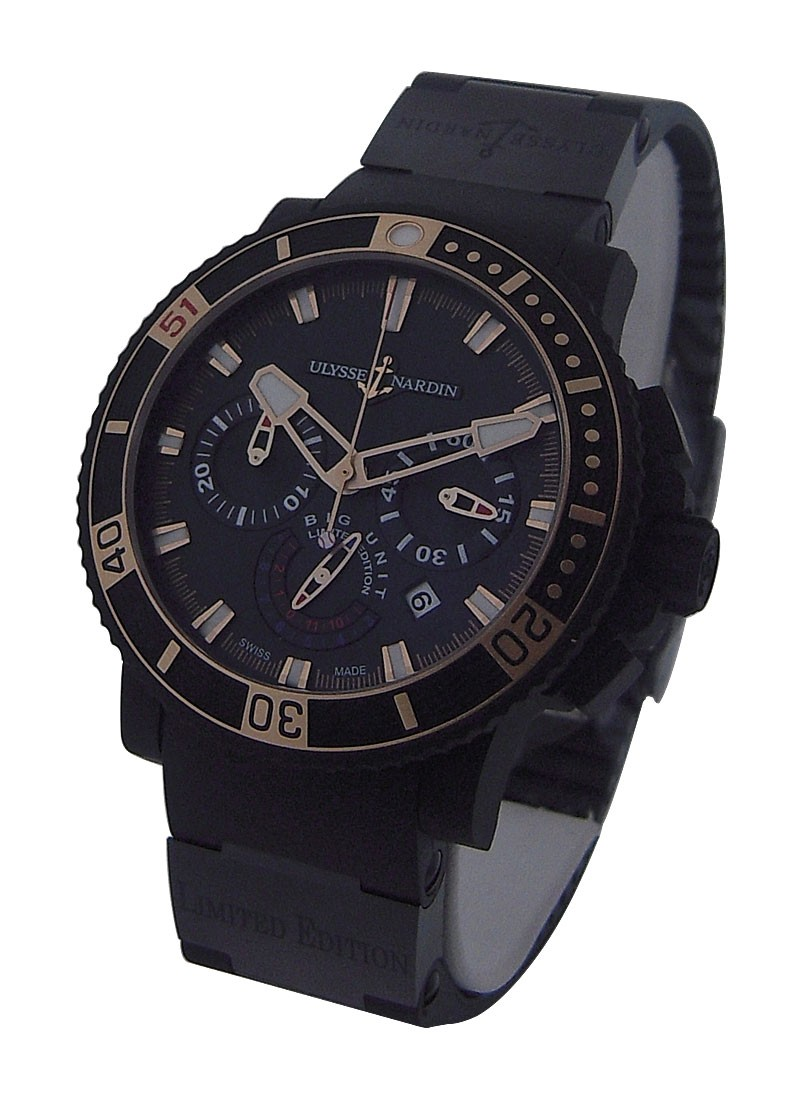Ulysse Nardin Black Sea Chronograph Big Unit Randy Johnson   LE 100pc