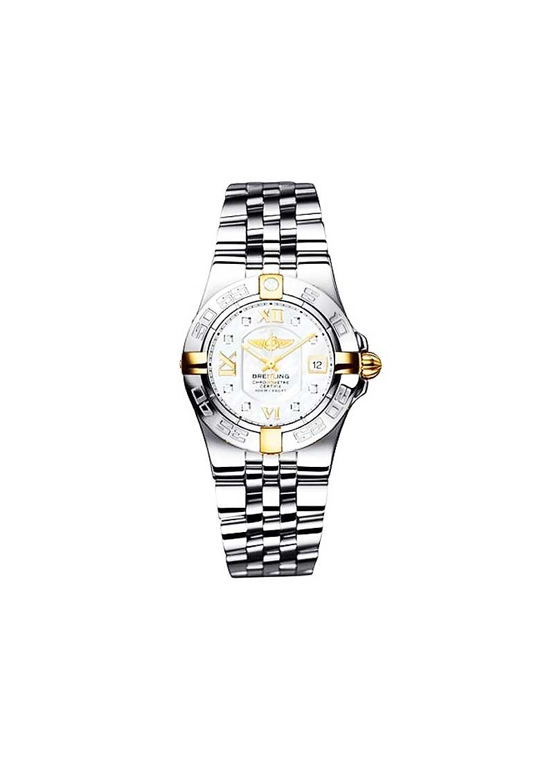 Breitling Galactic 30 Ladies' Quartz in 2-Tone