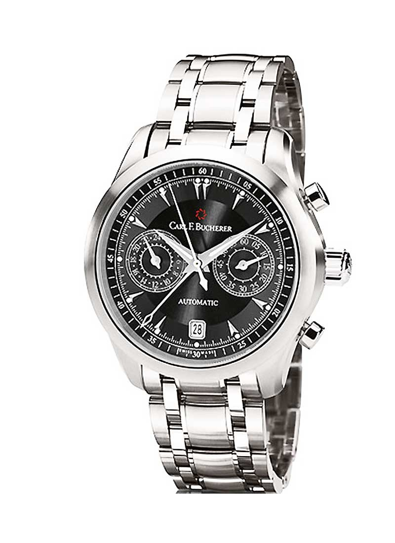 Carl F. Bucherer  Manero Central Chrono Men's Automatic in Steel
