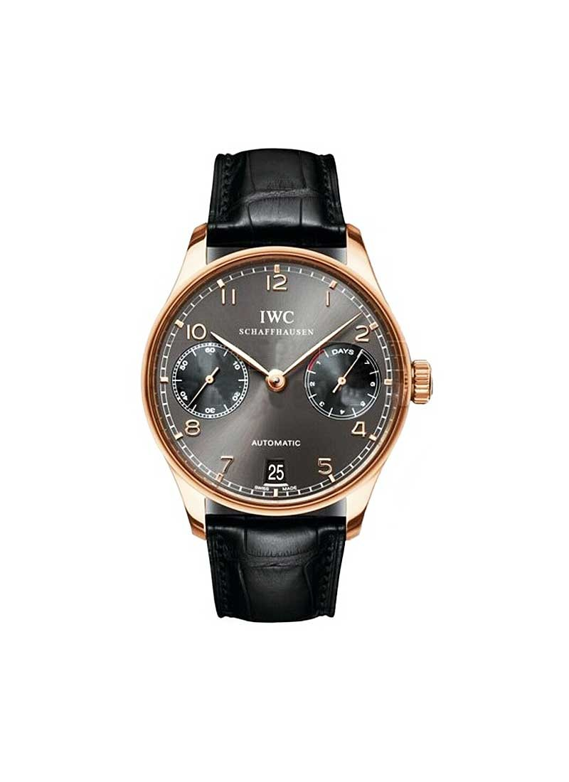 IWC Potuguese Men''''s Automatic in Rose Gold