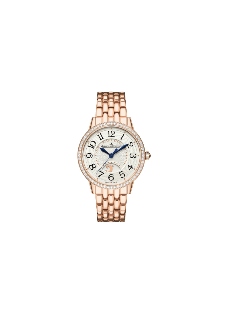 Jaeger - LeCoultre Rendez-Vous Night & Day - in Rose Gold with Diamond Bezel