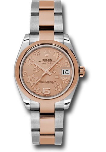 Rolex Unworn DateJust Two Tone in Steel with Rose Gold Domed Bezel