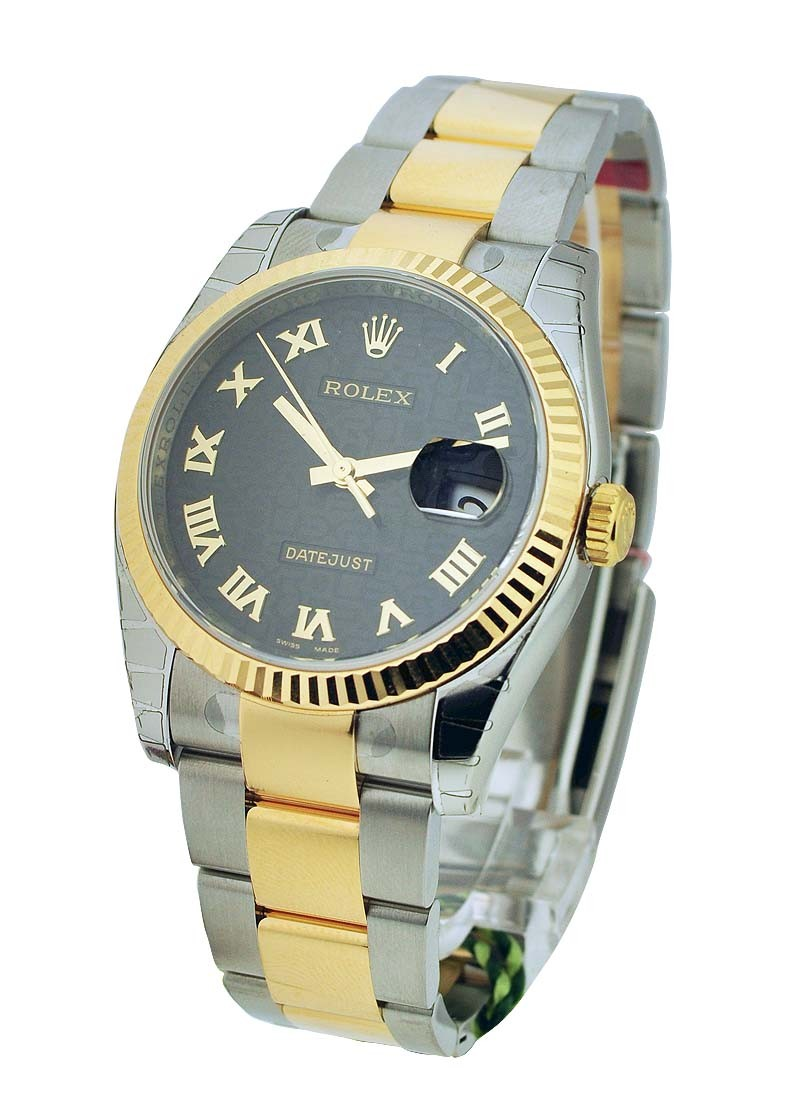 Rolex Unworn Mens 2 Tone Datejust with Oyster Bracelet