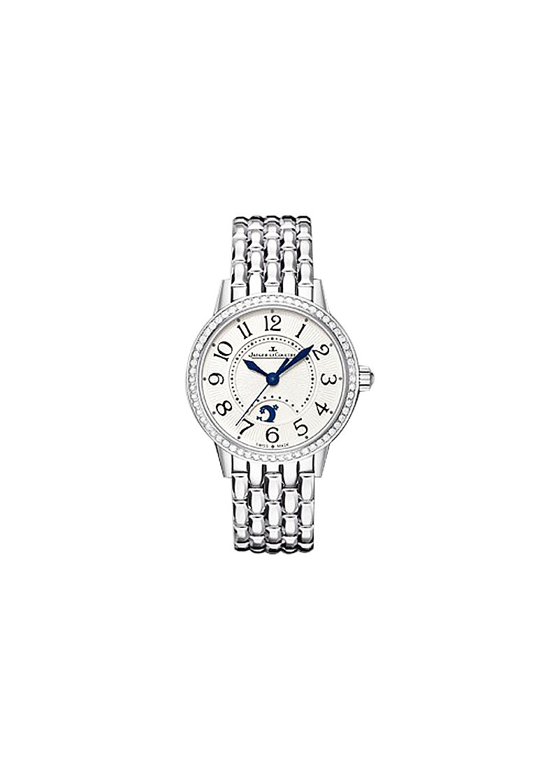 Jaeger - LeCoultre Rendez-Vous Night & Day in Steel with Diamond Bezel