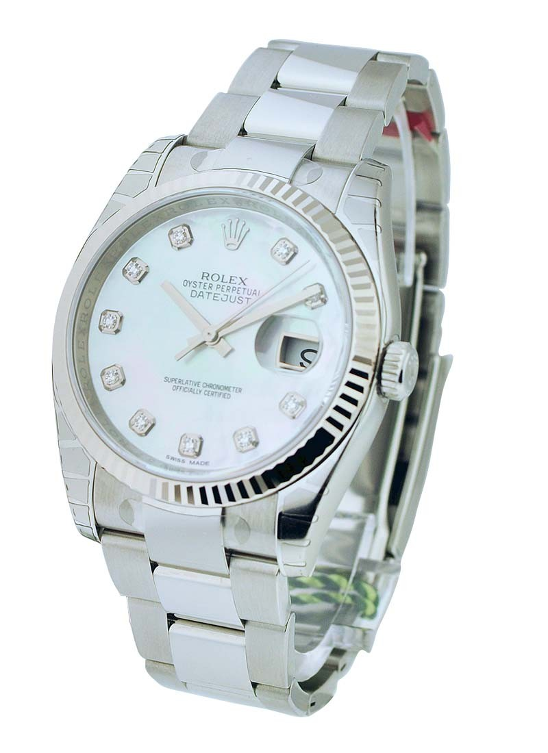 Rolex Unworn  Mens Steel Datejust with Oyster Bracelet