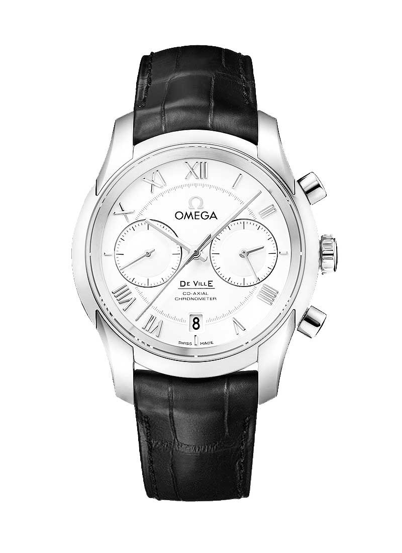 Omega DeVille Co-Axial Chronometer in Steel
