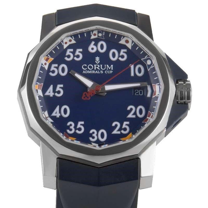 Corum Admiral's Cup Competition 40mm in Steel