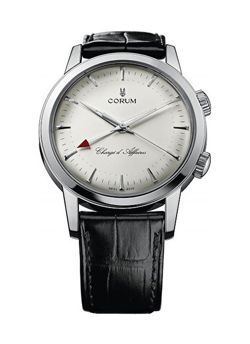 Corum Vintage Collection   Heritage Charge d'Affaires in White Gold
