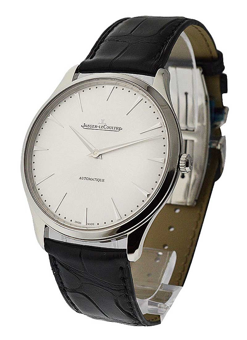 Jaeger - LeCoultre Master Series Ultra Thin Automatic in Steel