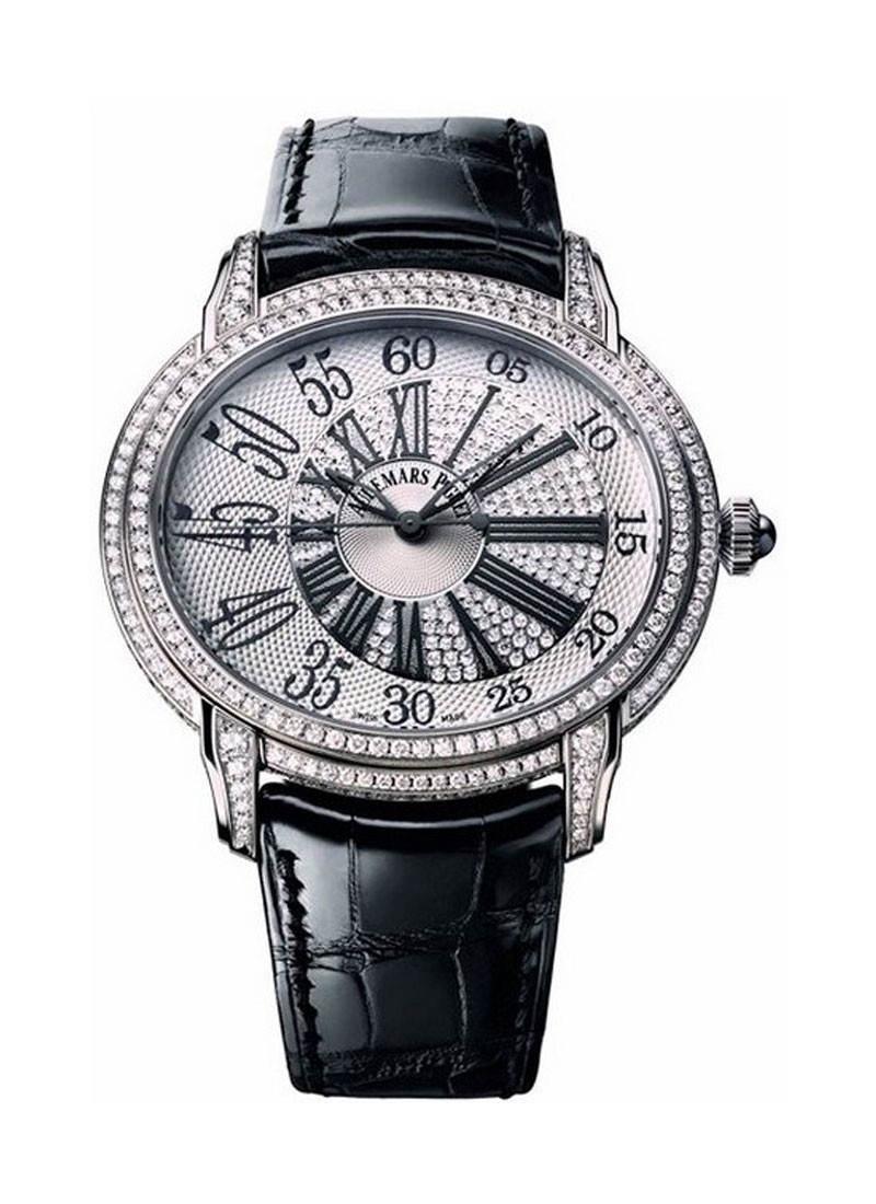 Audemars Piguet Millenary Queen Elizabeth Cup II 2013 in White Gold with Diamond Bezel