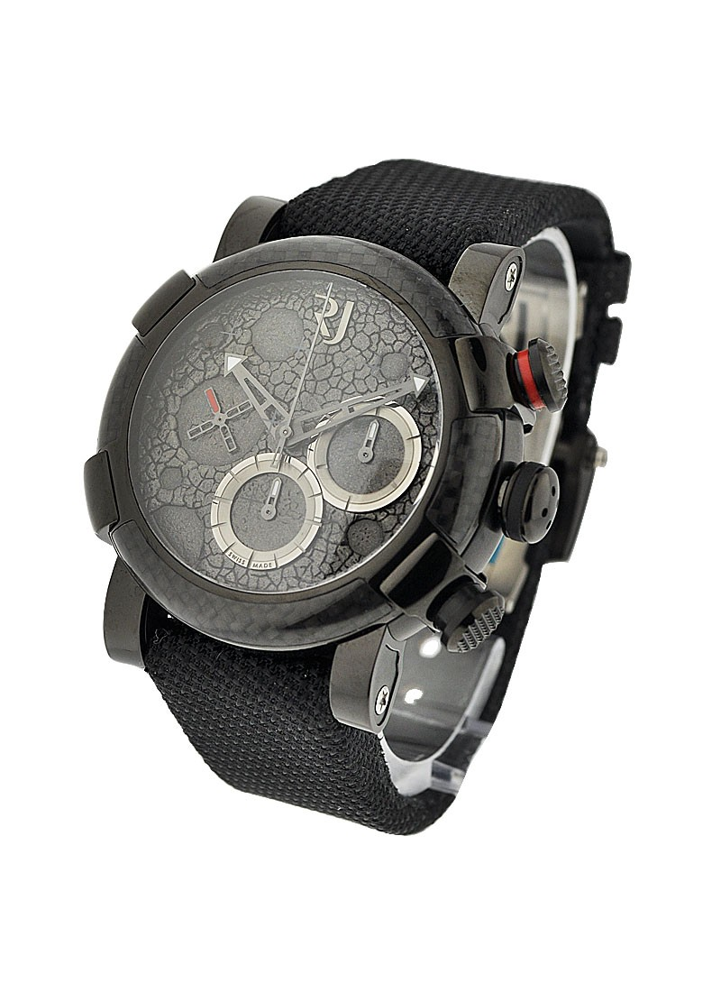 Romain Jerome Moon Dust Black Mood Chrono in Carbon Fiber and PVD Steel