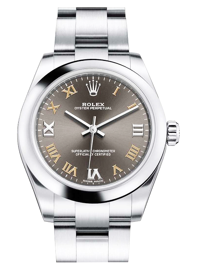 Rolex Unworn Oyster Perpetual 31mm in Steel with Domed Bezel