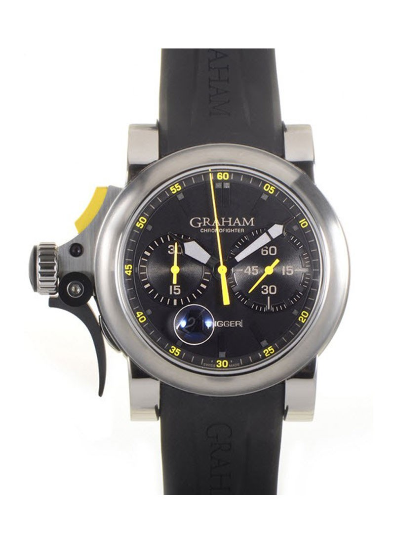 Graham Chronofighter RAC Trigger Men''s Automatic in Steel
