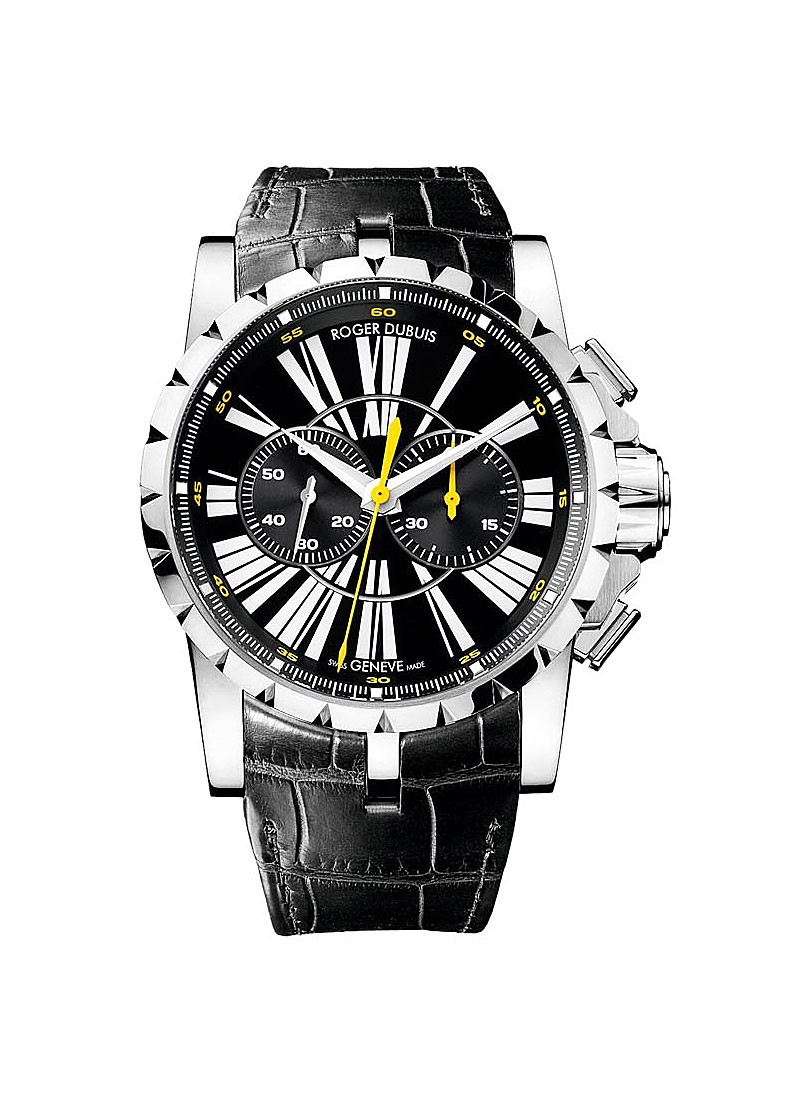 Roger Dubuis Excalibur Chronograph Men's Automatic in Steel