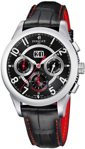 Perrelet Big Date Chronograph Automatic in Steel