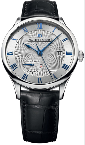 Maurice Lacroix Masterpiece Reswerve de Marche Automatic in Steel