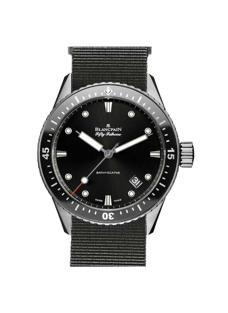 Blancpain Fifty Fathoms Bathyscaphe Automatic in Titanium