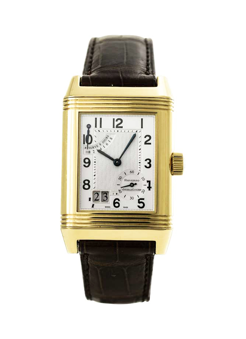 Jaeger - LeCoultre Reverso Grande Date 8 day 46mm in Yellow Gold