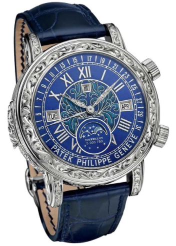 Patek Philippe Grand Complications Minute Repeater Tourbillon 6002