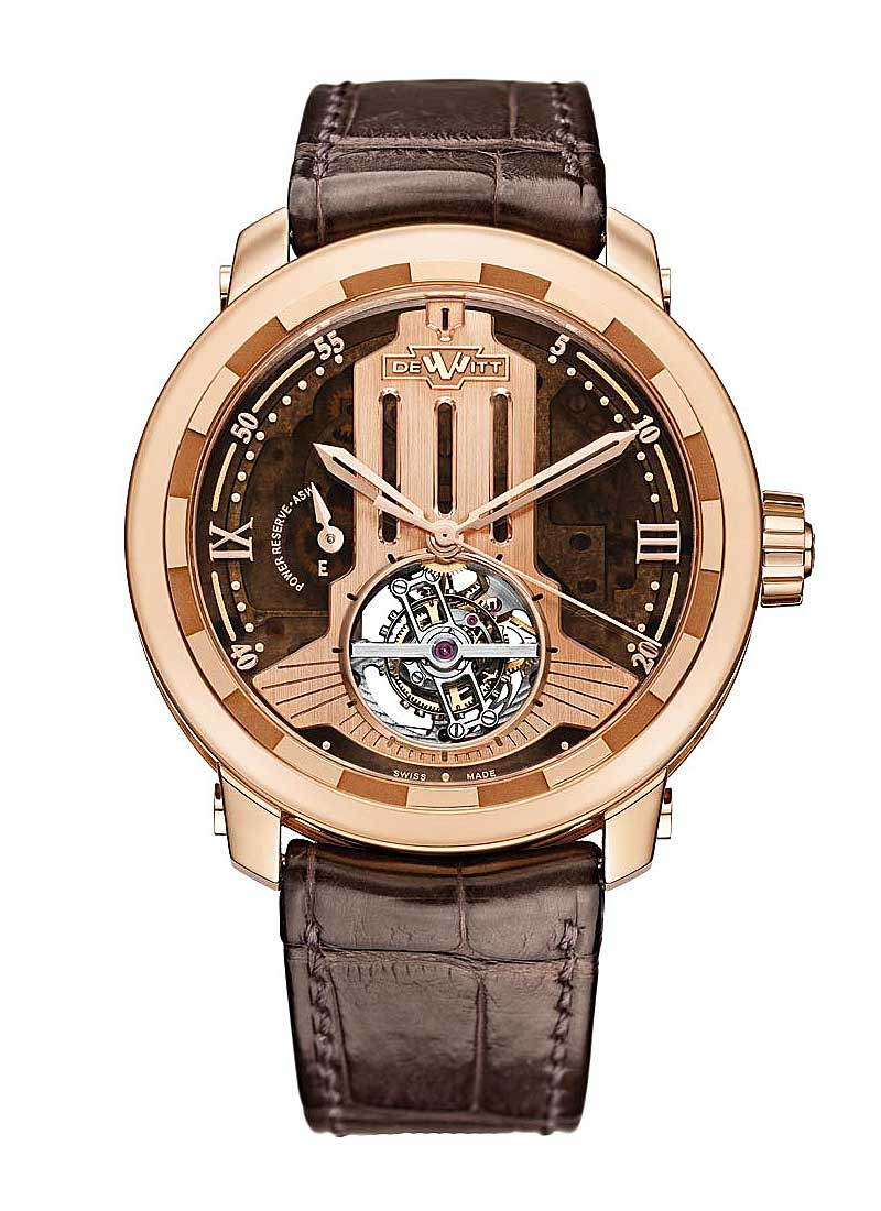 Dewitt Twenty 8 Eight Regulator ASW Horizons in Rose Gold