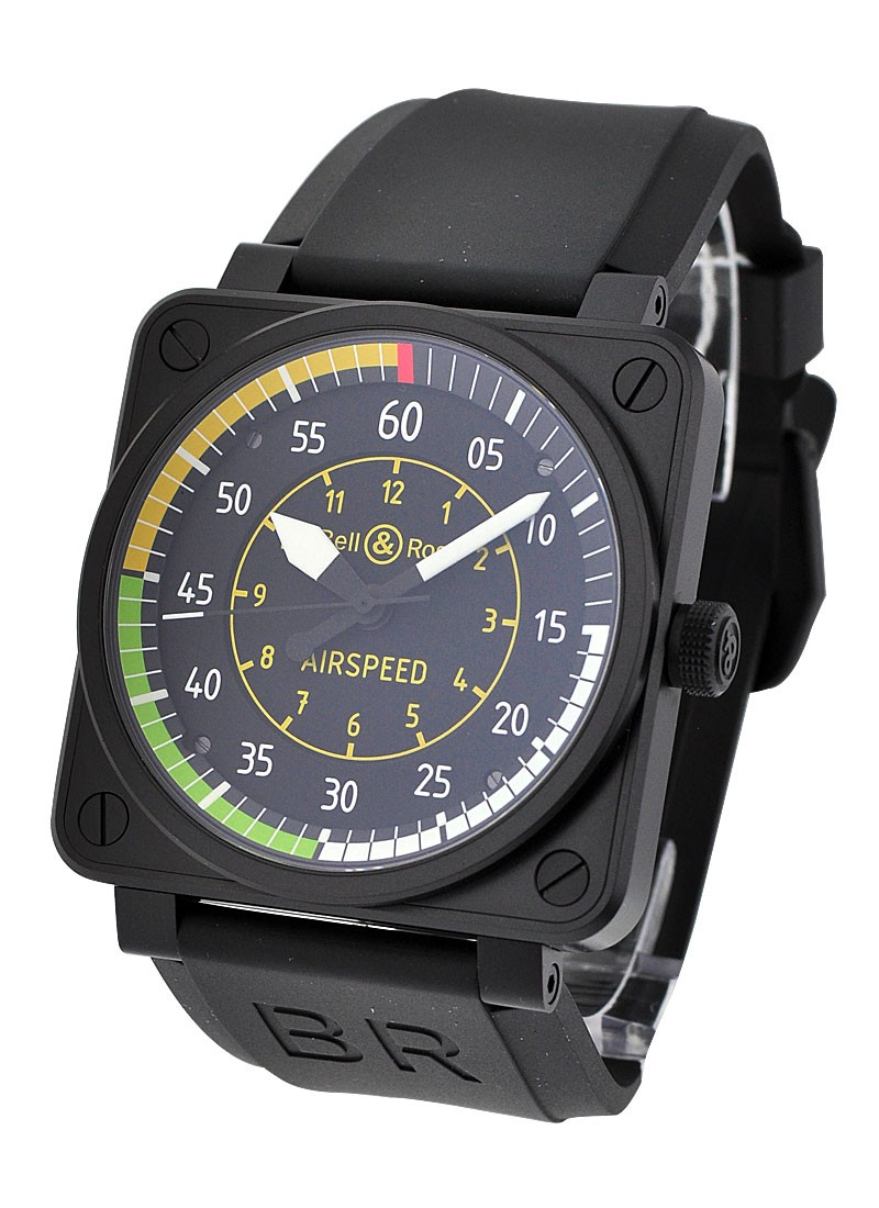 Bell & Ross Aviation BR 01 92 Airspeed in PVD Steel