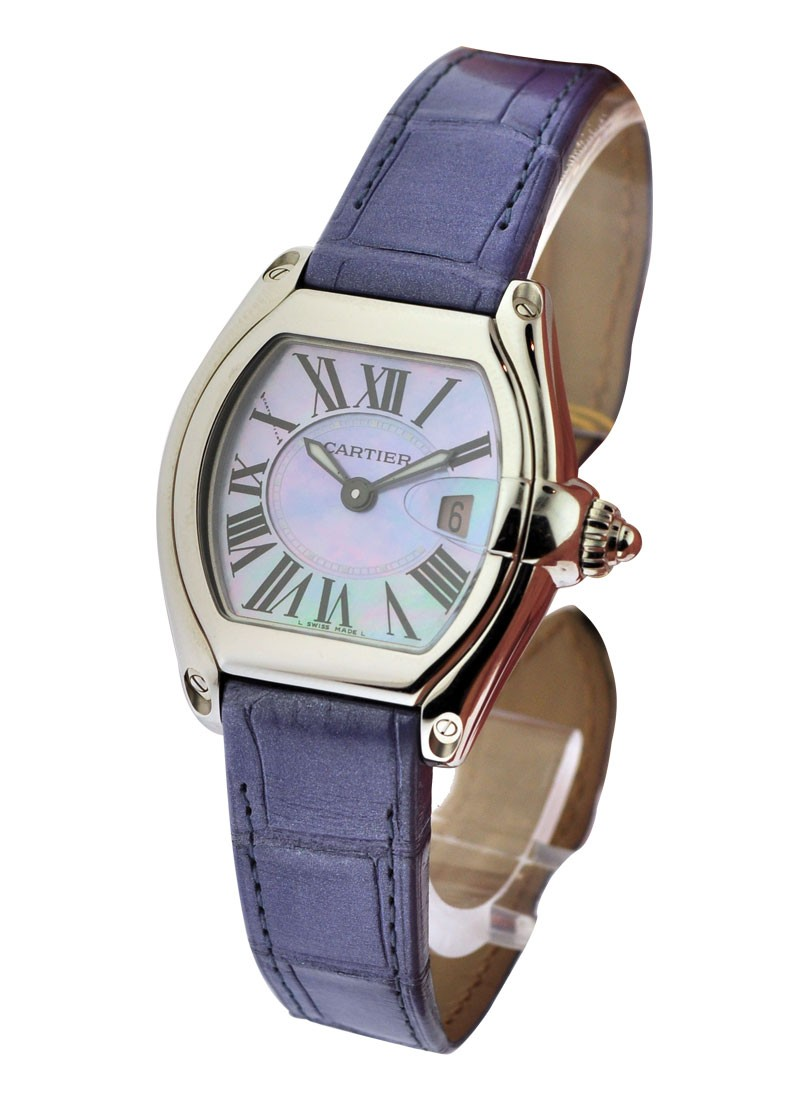 Cartier  Lady''''s Roadster with Blue MOP Dial