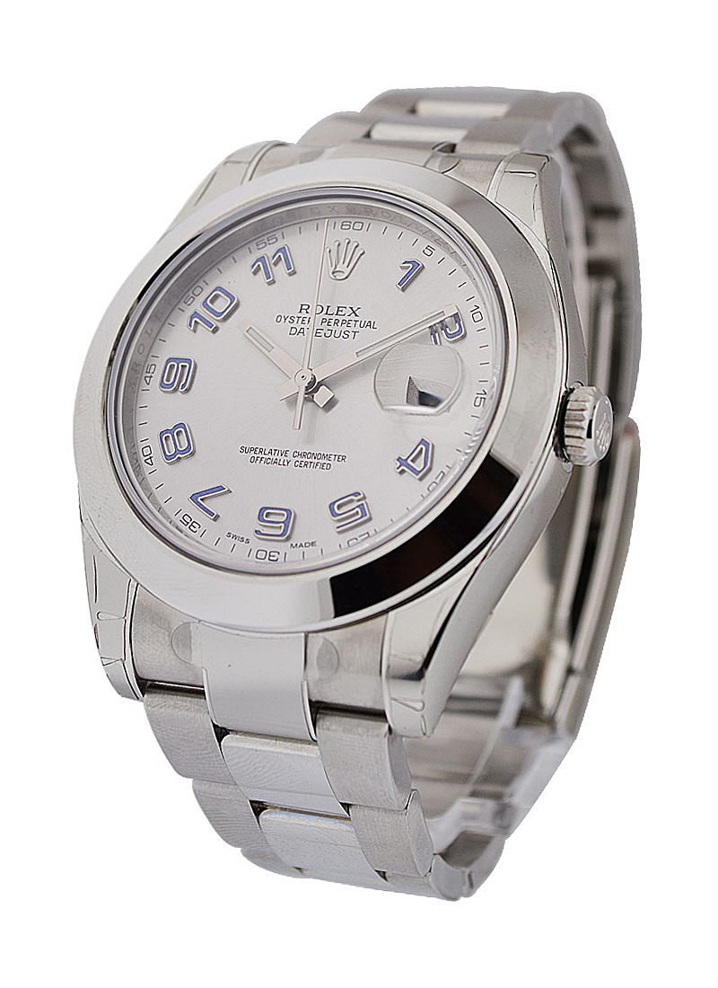 Rolex Unworn Datejust II in Steel with Smooth Bezel