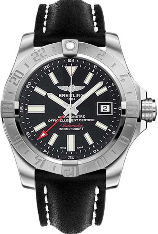 Breitling Avenger GMT II Automatic 43mm in Steel